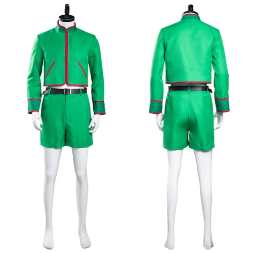 Hunter X Hunter Halloween Carnival Suit GON·FREECSS Top Shorts Outfit Cosplay Costume