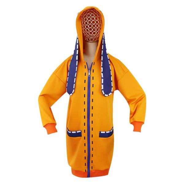 Anime Kakegurui Compulsive Gambler Yomoduki Runa Cosplay Hoodie Zipper Hooded Long Jacket Coat