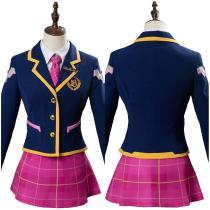 Overwatch Academy Dva Skin Cosplay Costume 3-YEAR Anniversary Outfit