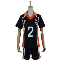Haikyuu Cosplay Costume Sugawara Koushi Sportswear Shirt Jerseys