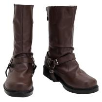 Twisted Wonderland Boots Ruggie Bucchi Halloween Costume Prop Cosplay Shoes