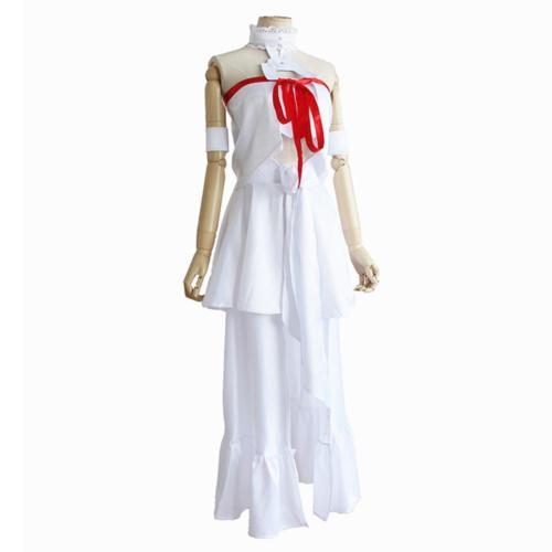 Sword Art Online Asuna Yuuki Asuna Dress Cosplay costume