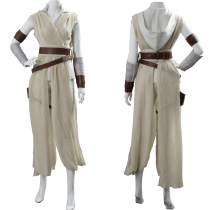 Star Wars:The Rise of Skywalker Rey Cosplay Costume Outfit Dress Suit Uniform