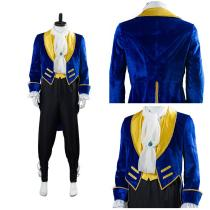 Beauty And The Beast Prince Beast Cosplay Costume Halloween Carnival Costume for Adult