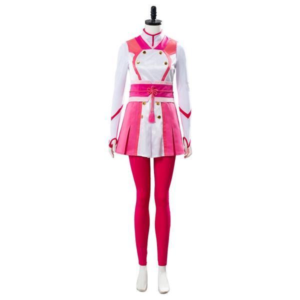 Project Sakura War Battle Uniform Set Amamiya Sakura Cosplay Costume