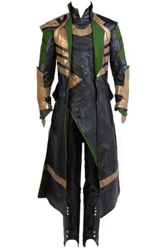 Thor The Dark World Loki Whole Set Cosplay Costume