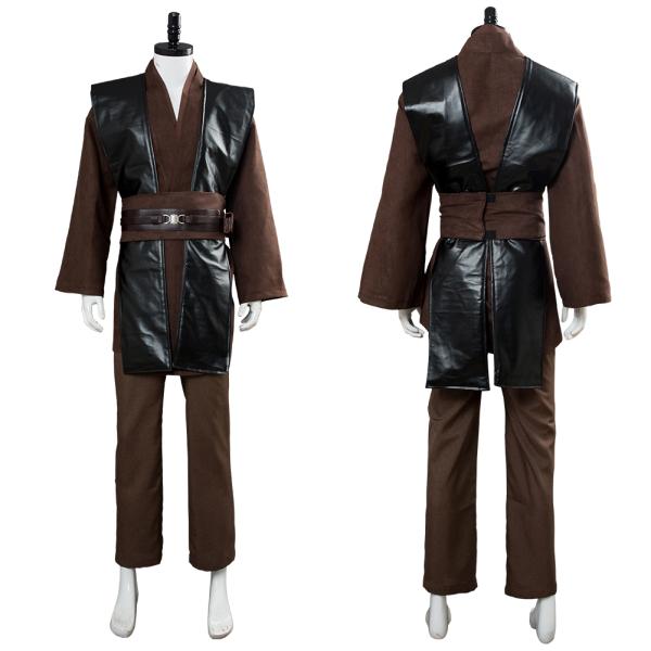 Star Wars Anakin Brown No Clock Cosplay Costume