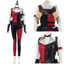 Mortal Kombat 11 Outfit Cassie Cage Harley Quinn Skin Halloween Suit Cosplay Costume