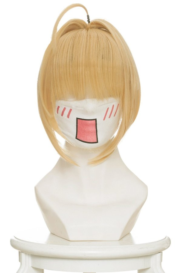 Fate /Grand Order Fate/EXTRA Saber Nero Claudius Cosplay Wigs