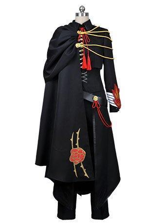 Code Geass Lelouch of the Rebellion Black Uniform Cosplay Costume