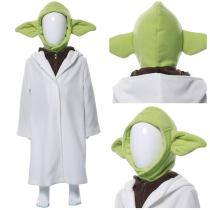 Yoda Baby The Mandalorian Kid's Suit Cosplay Costume