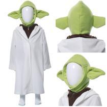 Yoda Baby The Mandalorian Kid's Suit Cosplay Costume