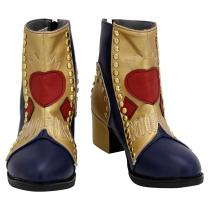 Descendants 3 Boots Evie Halloween Costumes Accessory Cosplay Shoes