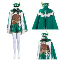 Game Genshin Impact Shirt Pants Outfit Venti Halloween Carnival Suit Cosplay Costume