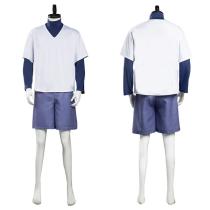 Hunter X Hunter Halloween Carnival Suit Killua Zoldyck Top Shorts Outfit Cosplay Costume