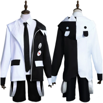 Anime Danganronpa Halloween Carnival Suit Monokuma Men Uniform Outfit Cosplay Costume