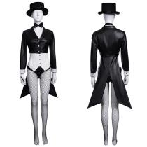 DC Comics Superheroes The Magician Outfit Zatanna Zatara Halloween Carnival Suit Cosplay Costume