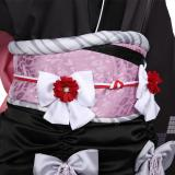 Final Fantasy VII Remake Halloween Carnival Costume Tifa Lockhart Women Kimono Dress Outfit Cosplay Costume