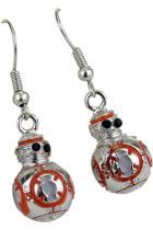 Star Wars BB8 3D Drop Earrings Robot Pendant  Cosplay Accessories