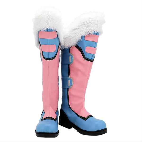 Overwatch Meiling Zhou Cosplay Shoes