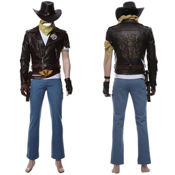 Overwatch Jesse Mccree Cosplay Costume