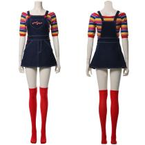Child's Play Glenn Adult For Female Cosplay Costume