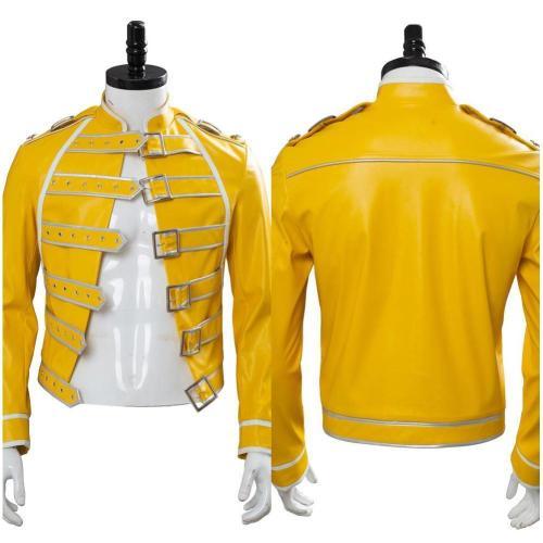 Queen Freddie Mercury Cosplay Costume Coat