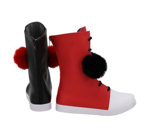 DC Comics Harley Quinn Cosplay Shoes