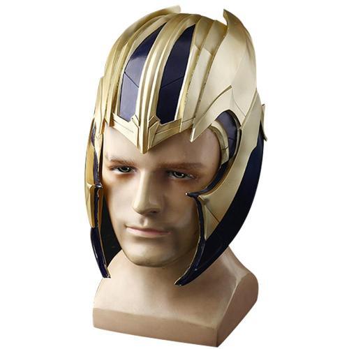 Avengers 4 Endgame Thanos Helmet Cosplay Props
