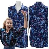 Stranger Things 3 Eleven T-shirt Cosplay Costume