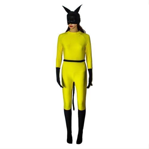 Marvel Hellcat Outfit Jessica Jones Season 3 Patsy Walker Cosplay Costume