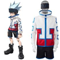 Shaman King The Super Star - Horohoro Cosplay Costume Outfits Halloween Carnival Suit