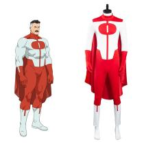 Invincible Omni-Man Cosplay Costumes Outfits Halloween Carnival Suit