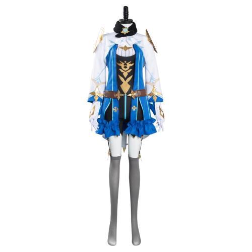 Genshin Impact Sucrose Cosplay Costume  Halloween Carnival Suit