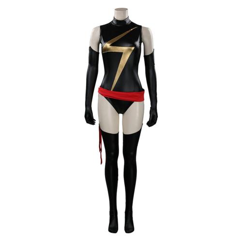 Ms. Marvel Cosplay Costume Jumpsuit Outfits Halloween Carnival Suit