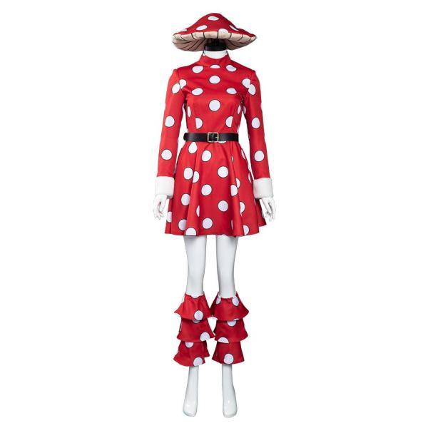 My Hero Academia S5 Kinoko Komori Cosplay Costume Outfits Halloween Carnival Suit