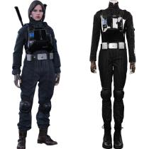 Star Wars-Jyn Erso Pilot Jumpsuit Romper Cosplay Costume Outfits Halloween Carnival Suit