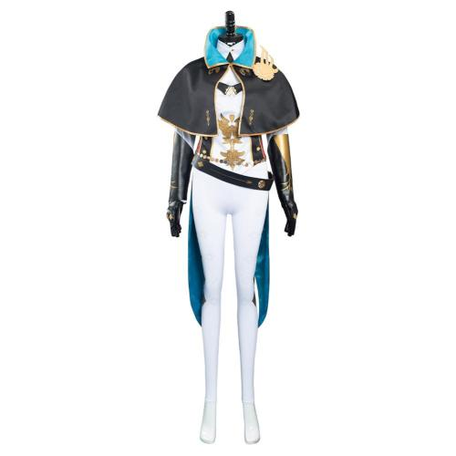 Game Genshin Impact Jean Gunnhildr Cosplay Costume Outfits Halloween Carnival Suit