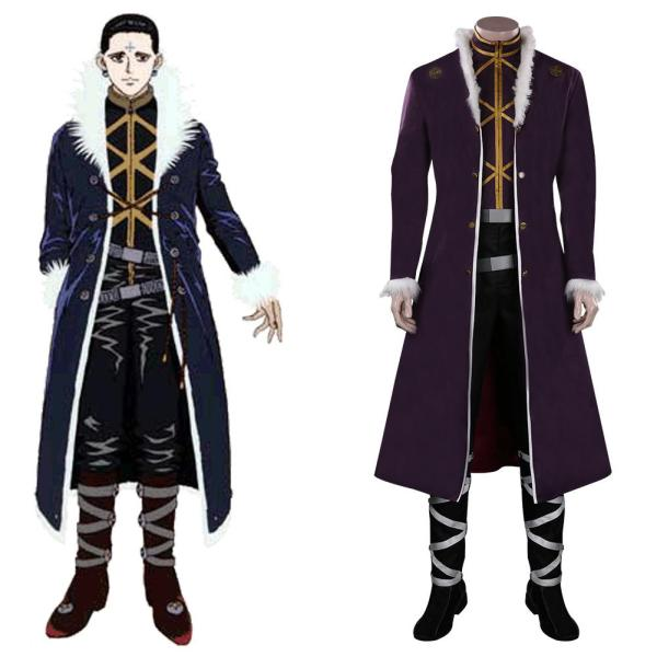 Hunter x Hunter Kulolo lushilufelu Cosplay Costume Outfits Halloween Carnival Suit