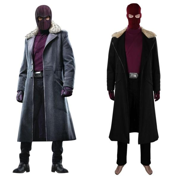 The Falcon and the Winter Soldier Baron Zemo Cosplay Costume Outfits Halloween Carnival Suit