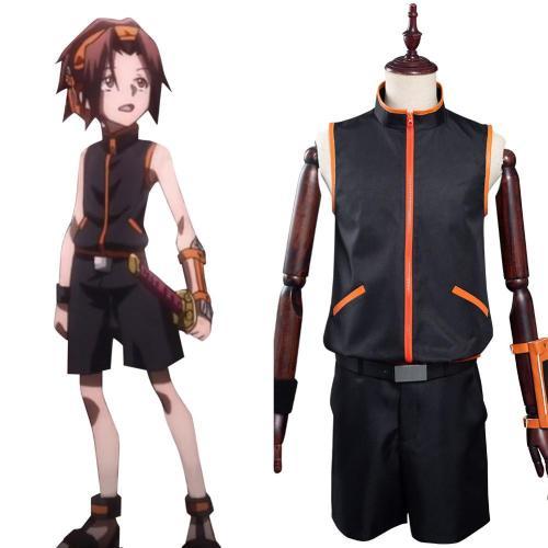 Shaman King The Super Star - Yoh Asakura Cosplay Costume Outfits Halloween Carnival Suit
