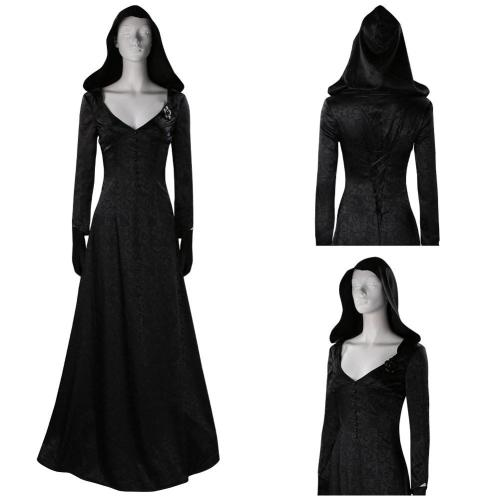Resident Evil Village Witch Cosplay Costume Dress Outfits Halloween Carnival Suit