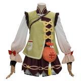 Genshin Impact  Yaoyao Cosplay Costume Outfits Halloween Carnival Costumes