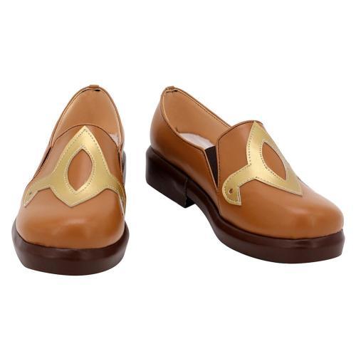 Genshin Impact Hu Tao Cosplay Shoes Boots Halloween Costumes Accessory Custom Made