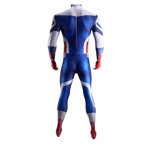 The Falcon and the Winter Soldier Captain America Jumpsuit Cosplay Costume Outfits Halloween Carnival Suit
