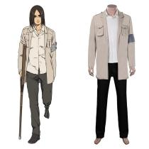 Attack on Titan Cloak Shingeki no Kyojin Eren Jaeger Cosplay Costume Outfits Halloween Carnival Suit
