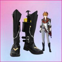 Genshin Impact Tartaglia Cosplay Shoes Boots Halloween Costumes Accessory Custom Made