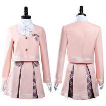 Aikatsu Planet! Cosplay Costumes Seirei High School Uniform Skirt Outfits Halloween Carnival Suit