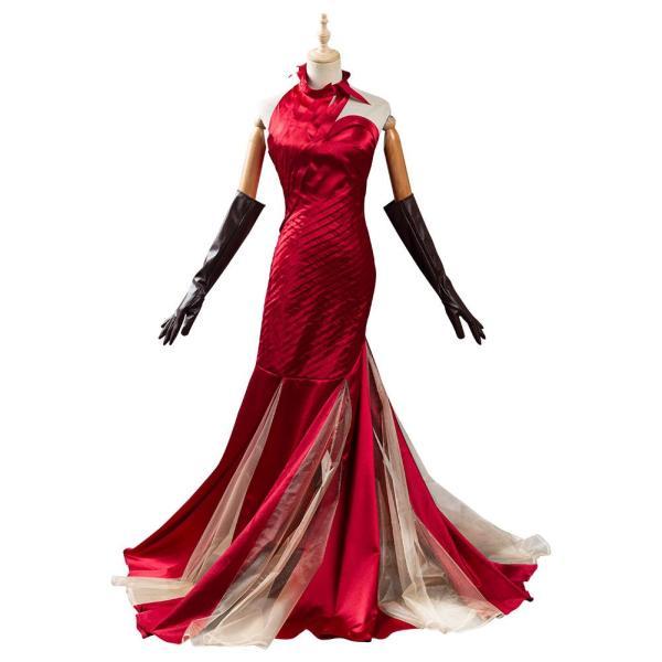 2021 Movie Cruella -Cruella de Vil Cosplay Costume Outfits Halloween Carnival Suit