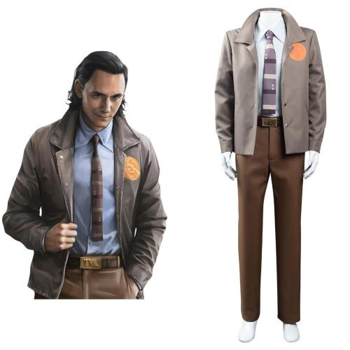2021 Movie Loki Cosplay Costume Outfits Halloween Carnival Suit
